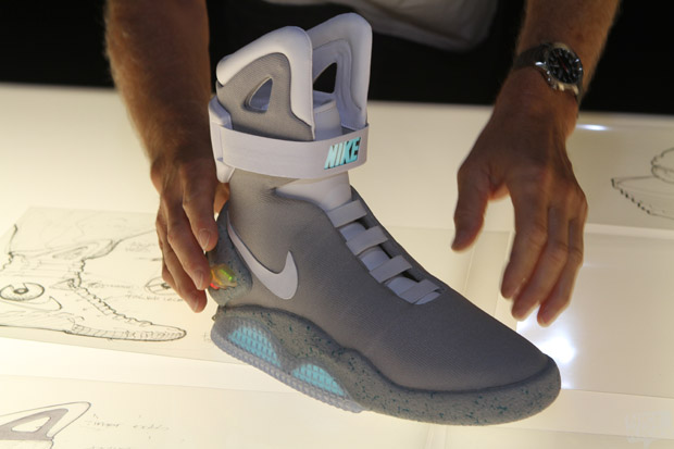 The Nike Marty McFly aka Nike Mag, is definitely a barbershop worthy topic.  The Marty McFly's aka Nike Mag, are the shoes that Michael J Fox wore in  Back ...