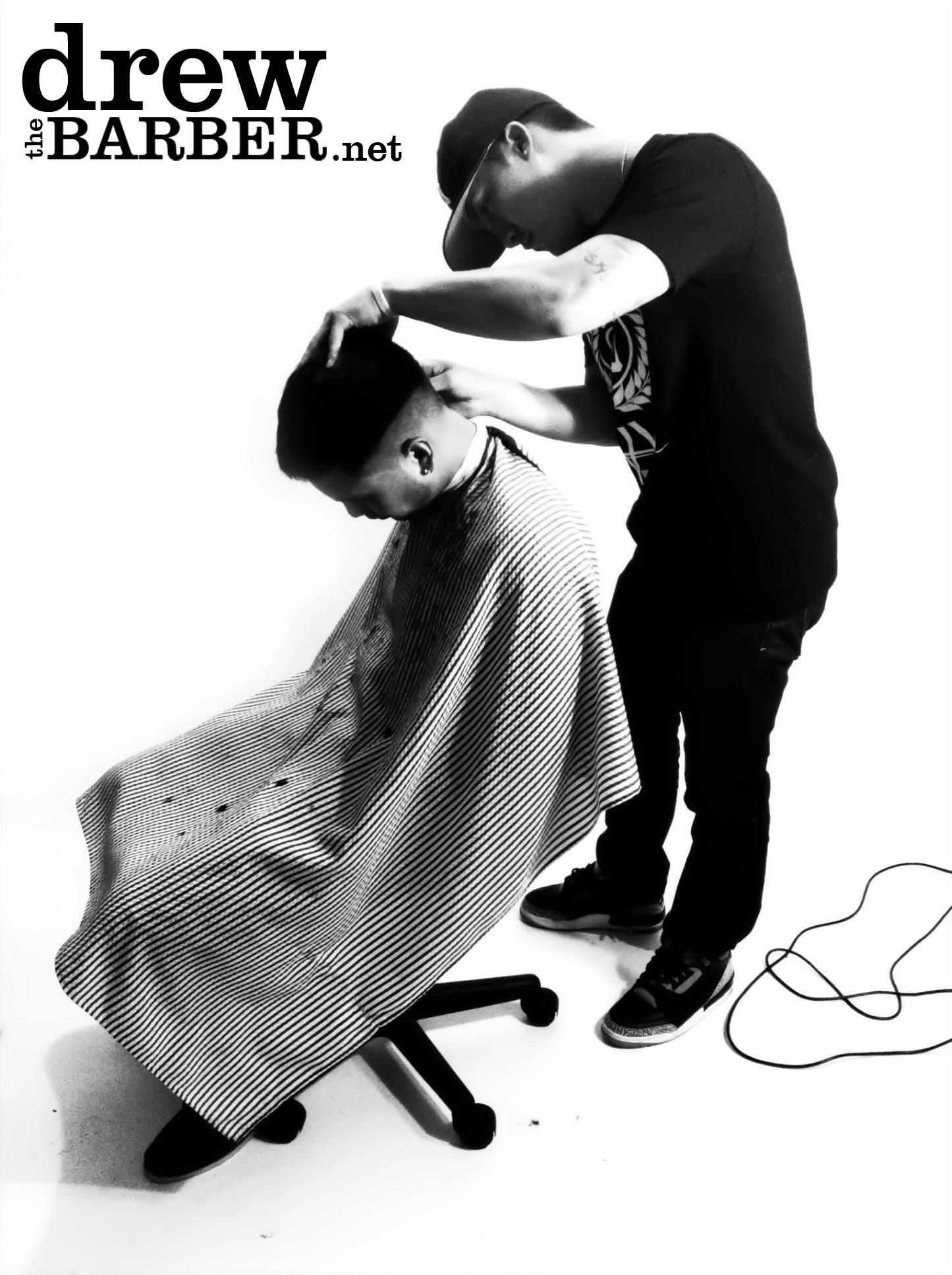 Represent: Drew The Barber
