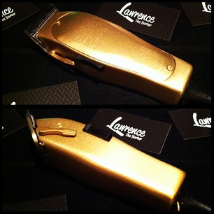 All Gold Andis by Lawrence The Barber