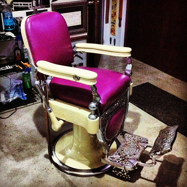 Lawrence The Barber Custom Chair