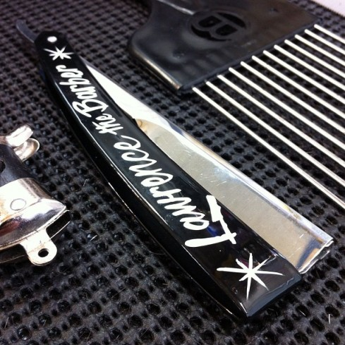 Lawrence The Barber Custom Straight Razor