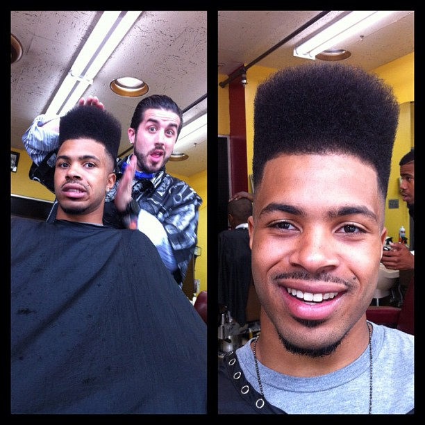 Lawrence the Barber Hightop fade 2