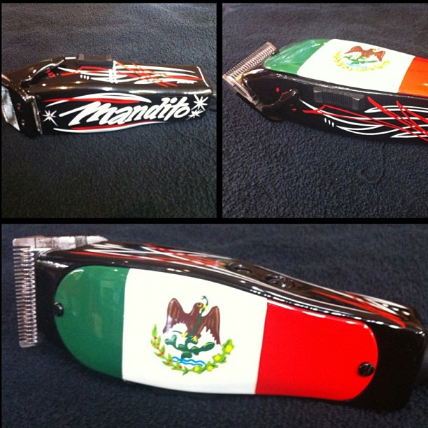 Lawrence The Barber Mexican Custom Clippers