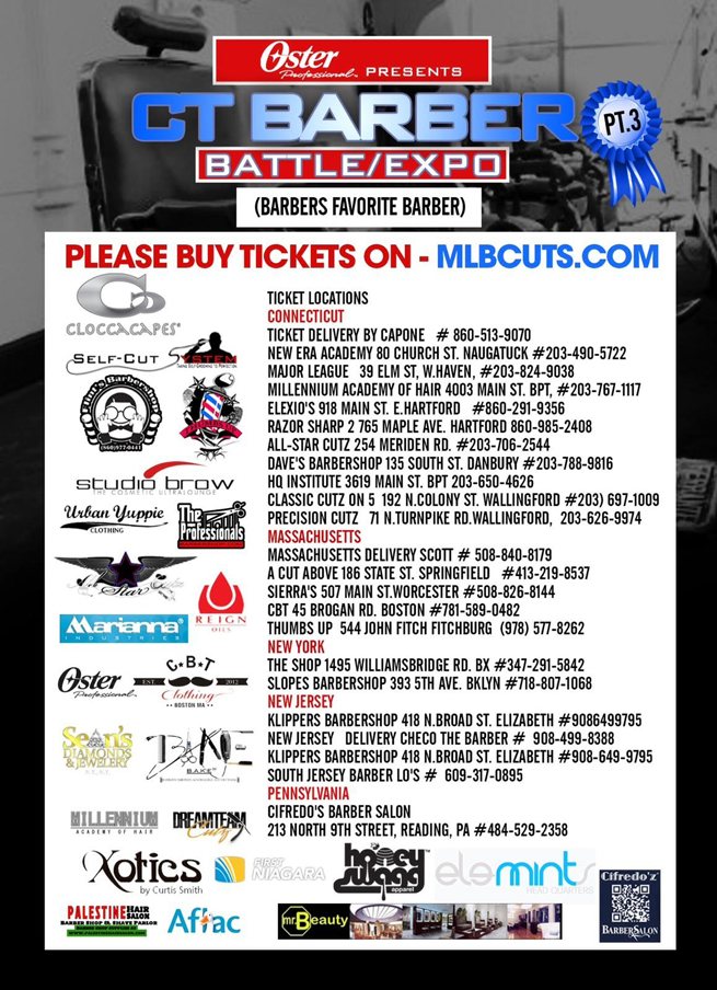 2013 CT Barber Battle/ ExpoSponsors