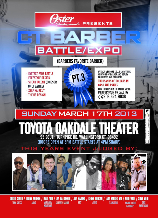 CT Barber Battle/Expo 2013 We will be there!!!!