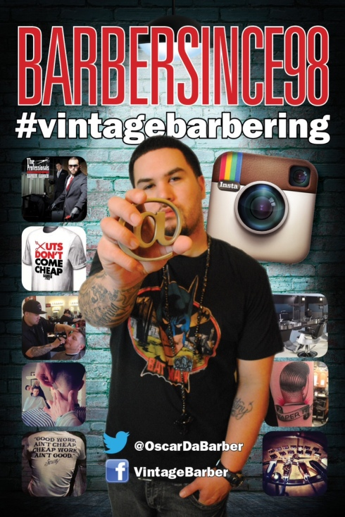 "Our  ByBarbers4Barbers.com 2013 CT Barber Battle  Official Correspondent Oscar ""Barber Since 98"" Torres"