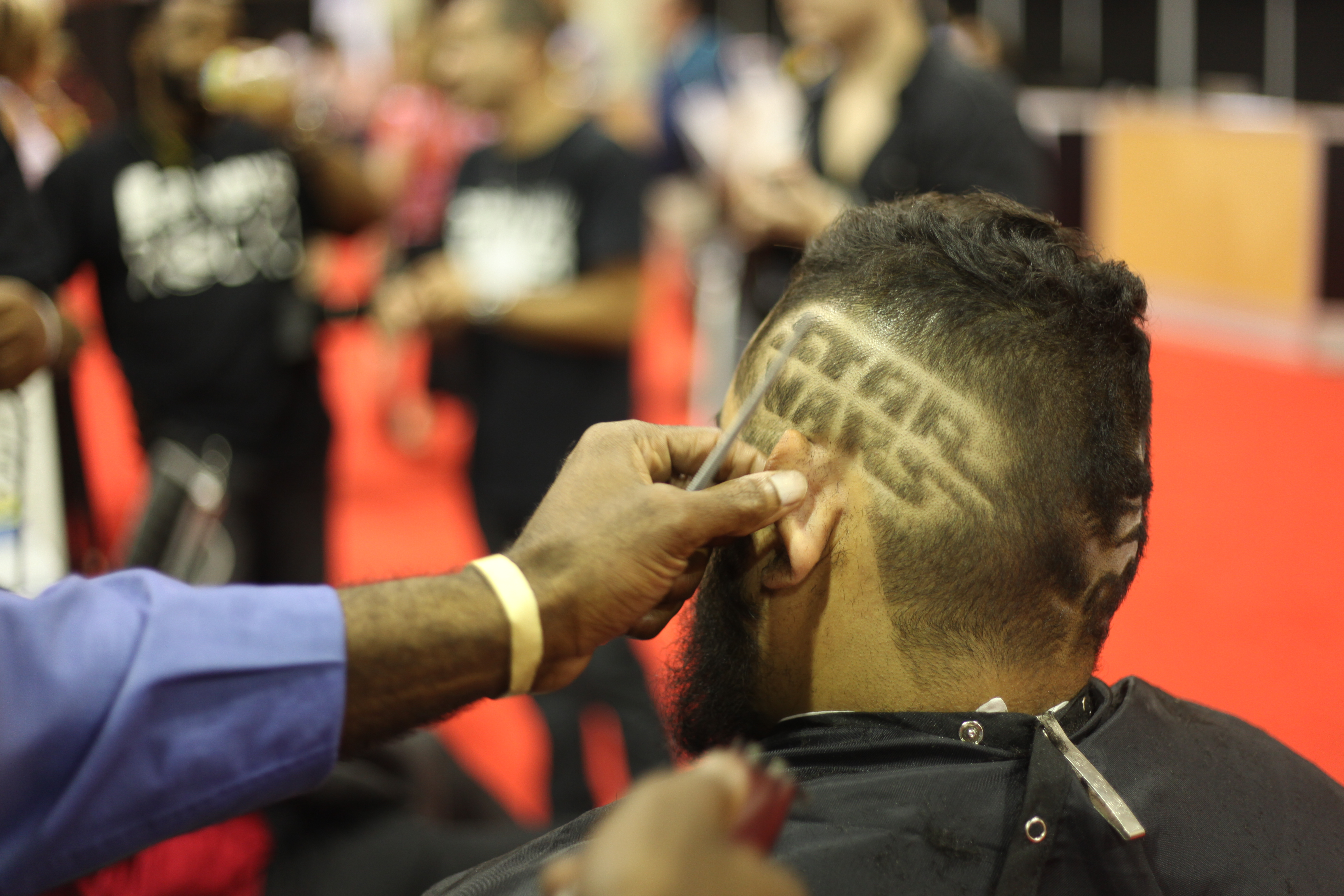 Major League Barbers Star Wars design
